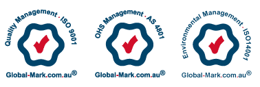 Management Systems - Global-Mark ISO9001-AS4801-ISO14001 - Global mark logos